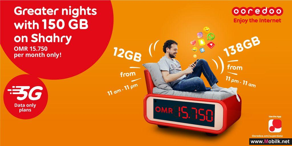 Unleash the Power of 5G with Ooredoo's Off-Peak 5G Super Data Plans