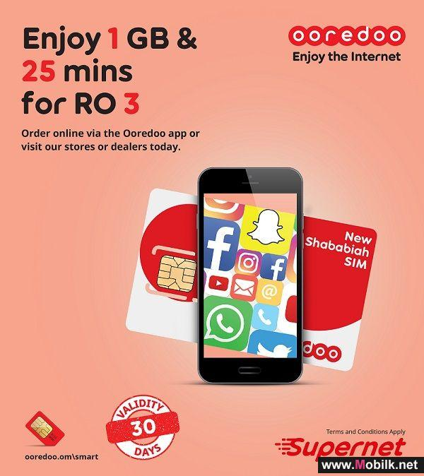 Ooredoo's New Shababiah Smart SIM Lets Customers Stay Connected for Longer