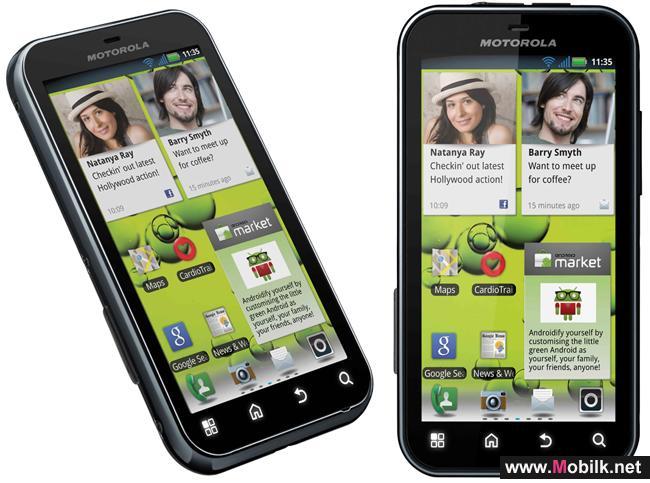 Motorola Mobility Launches Motorola DEFY™+ in the UAE