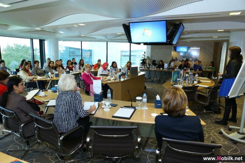 جودي مي تزور مجلس سيدات أعمال دبي لحديث حصري عن موضوع