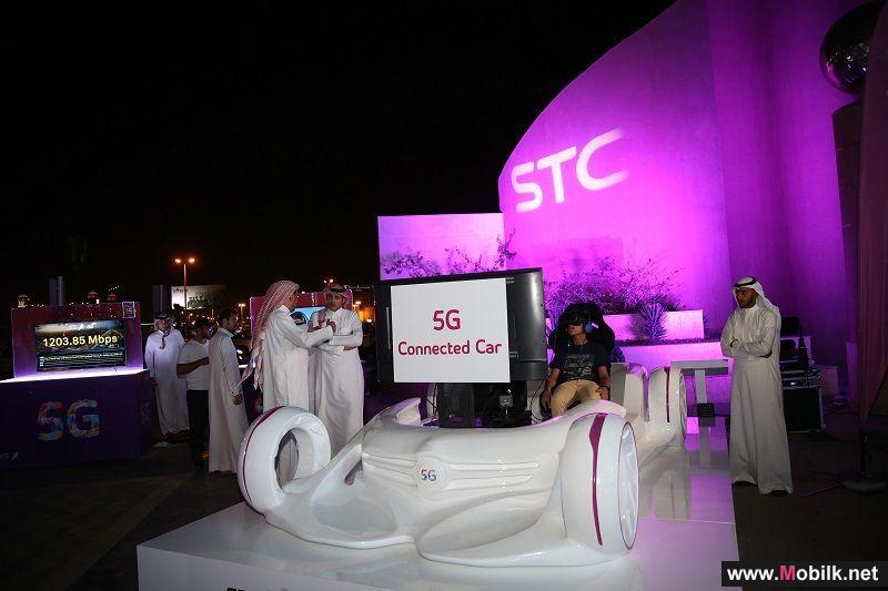 الاتصالات السعودية تعلن عن أكبر شبكة للجيل الخامس بالشرق الأوسط