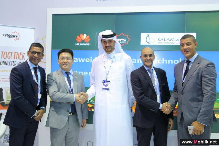 Huawei Selects Salam Technology as Strategic Channel Partner Extending ICT Excellence in Qatar