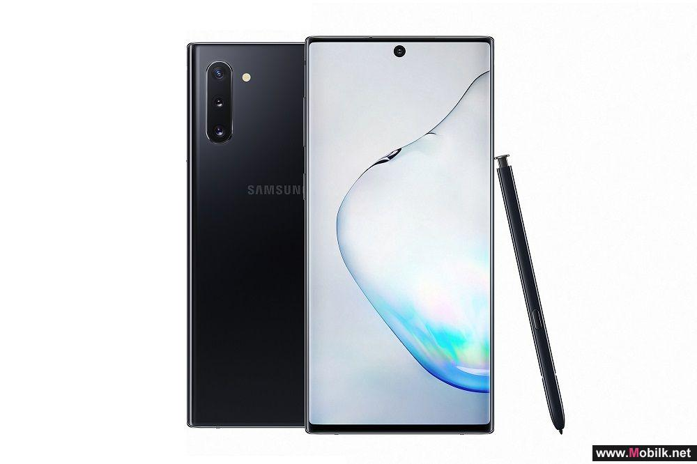 Bring Passions to Life with Samsung Galaxy Note10, now available at du