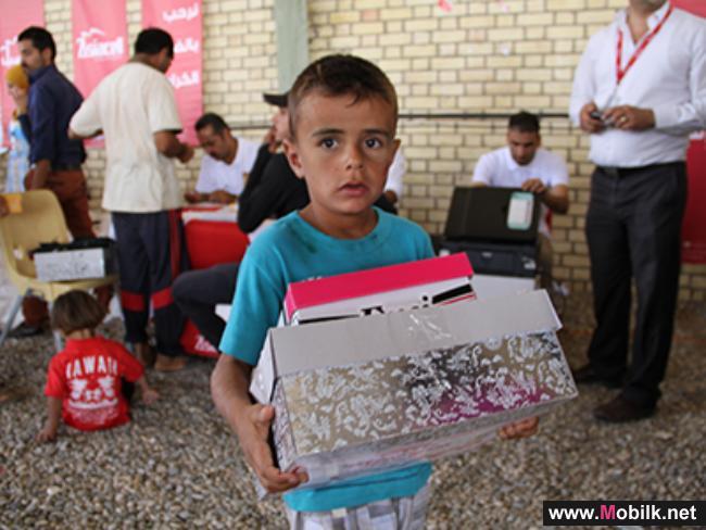 آسياسل تطلق عدداً من المبادرات لدعم النازحين واللاجئين في العراق