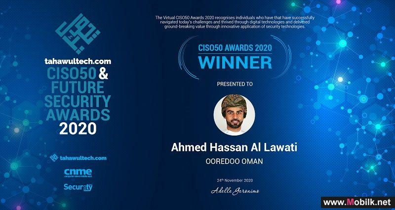 Ooredoo's Ahmed Al Lawati Named Among Top 50 Chief Information Security Officers in the Middle East