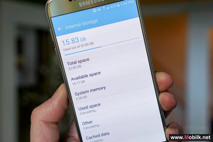 سامسونج تخصص 8 جيجابايت لنظام التشغيل في هواتف Galaxy S7 وS7 edge