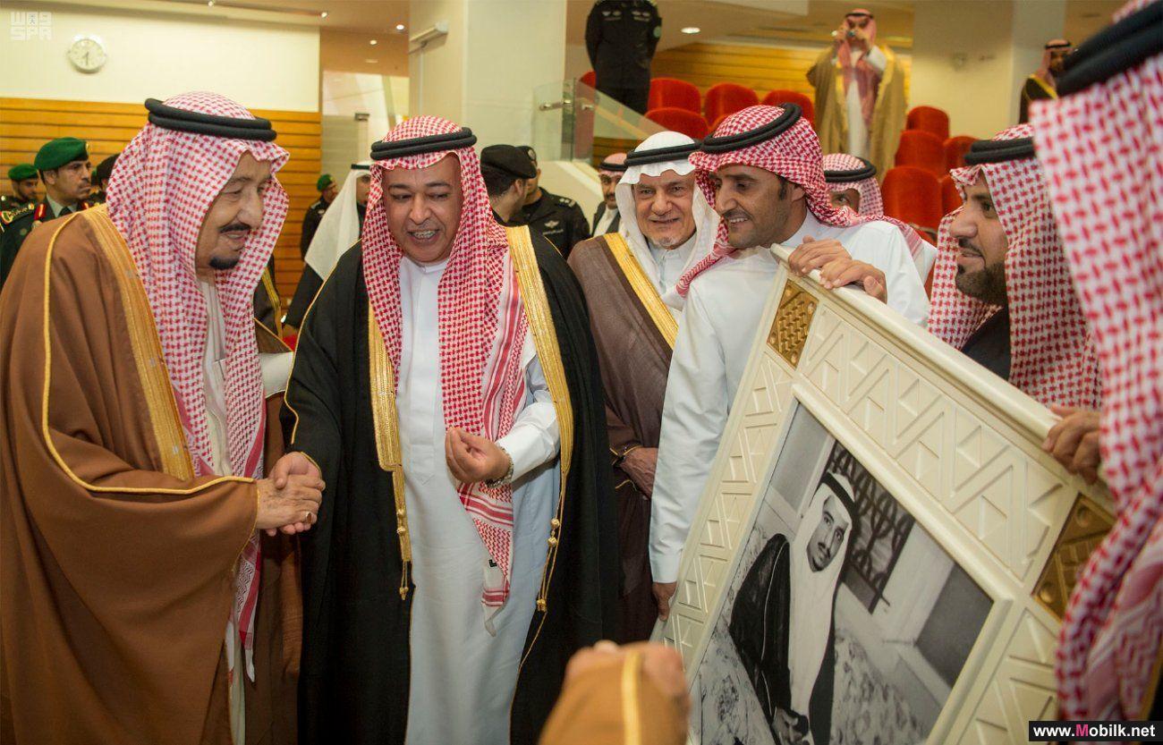 خادم الحرمين الشريفين يكرم الاتصالات السعودية كراعٍ استراتيجي لكأس المؤسس
