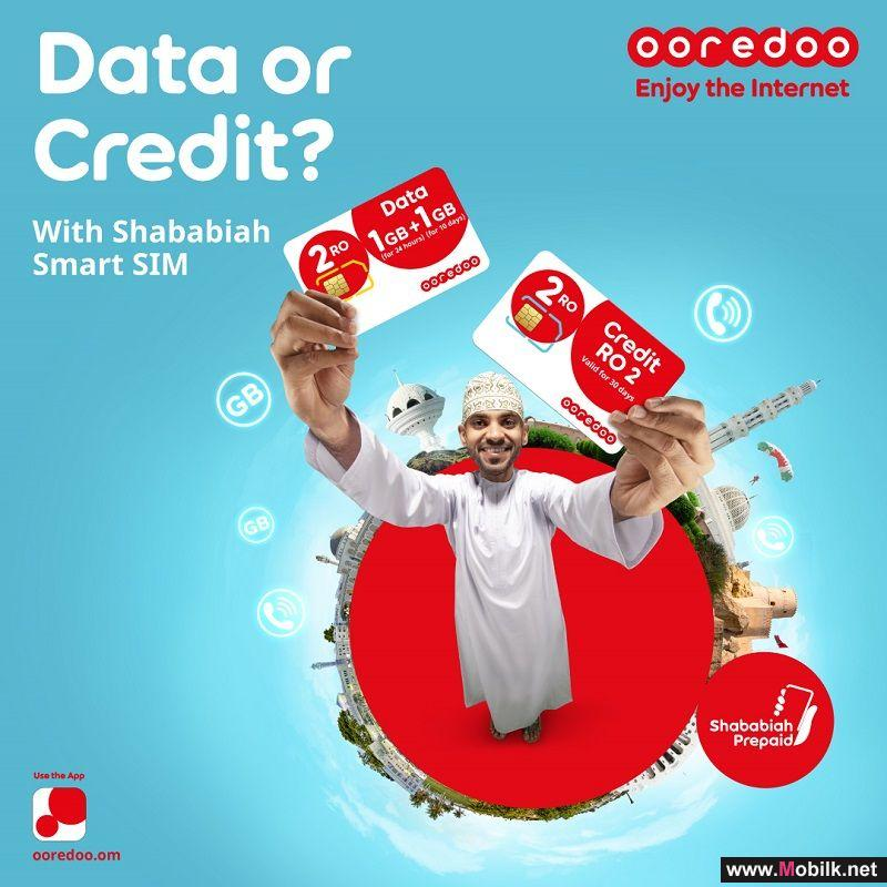 Ooredoo's Shababiah Starter Packs Now with Double the Data