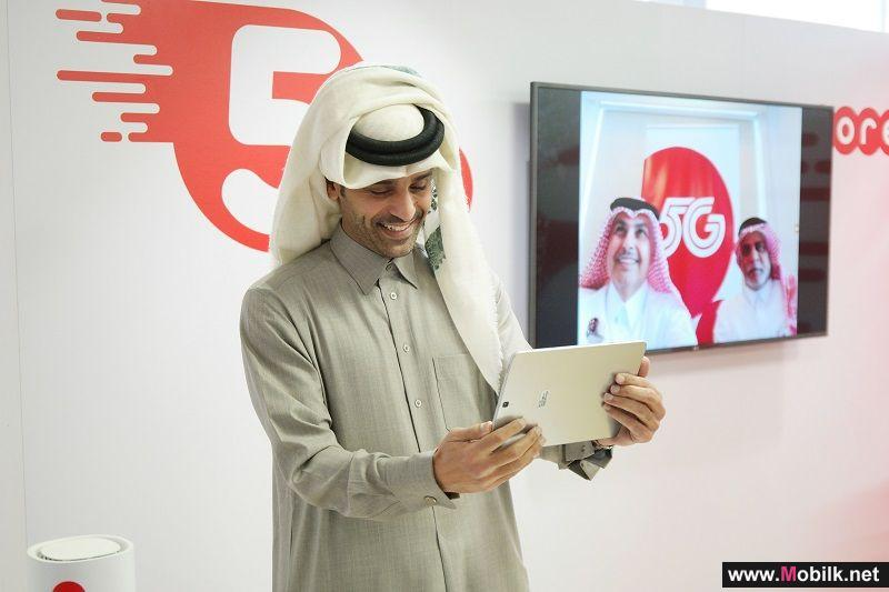 Ooredoo Group Announces First Successful International 5G Call in the Arab Region