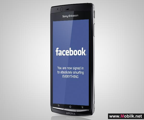 سوني إريكسون تستهدف مليوني مستخدم فيسبوك في الإمارات