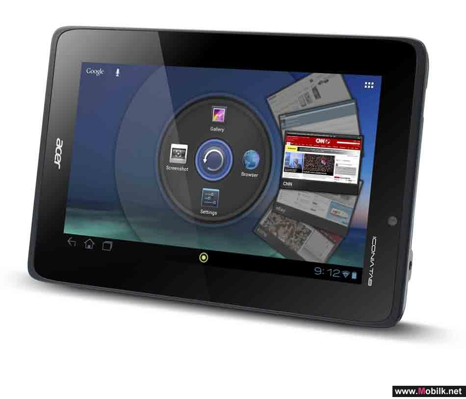Acer Presents the New ICONIA TAB A110