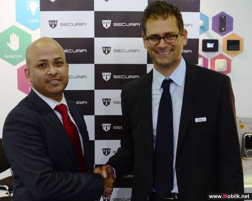 Securifi Inks Distribution Agreement With Logicom At GITEX Technology Week 2015