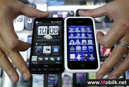 نمو مبيعات الهواتف الذكية 23 في المئة حتى نهاية 2014