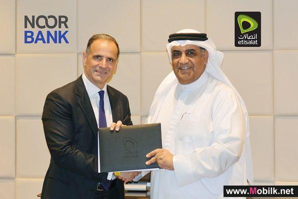 Etisalat and Noor Bank Join Hands to Offer Mobile Digital Payment Service