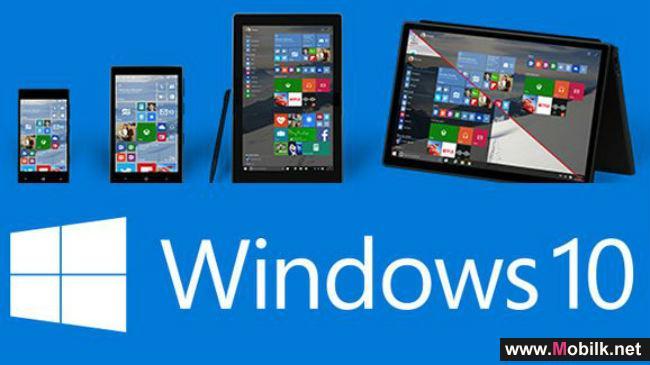 مايكروسوفت تطلق تحديثاً كبيراً لنظام تشغيل ويندوز 10