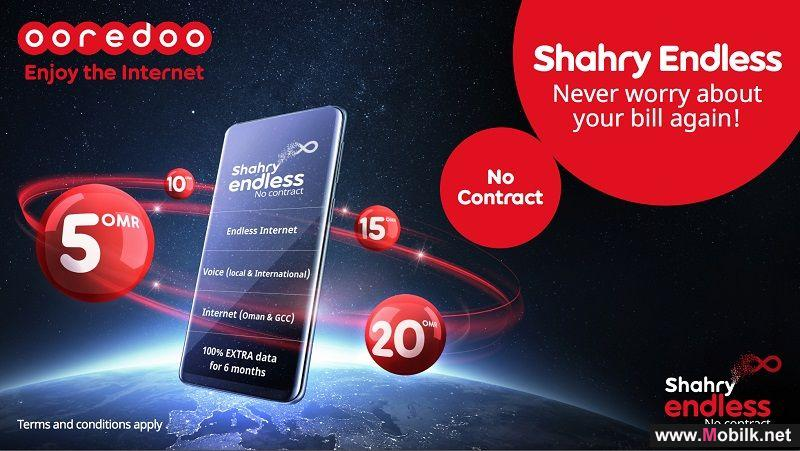 Ooredoo Introduces New Shahry Endless Plans with All New Benefits