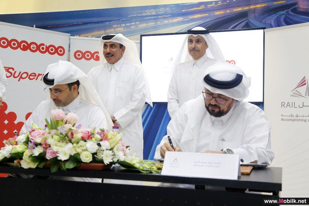 QITCOM Announcement - Ooredoo's Supernet to Connect Qatar Rail Red