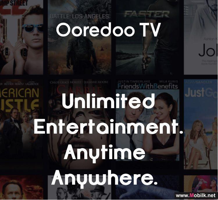 تطبيق Ooredoo TV Go يقدم باقة متنوعة من أفضل الأفلام والعروض الترفيهية
