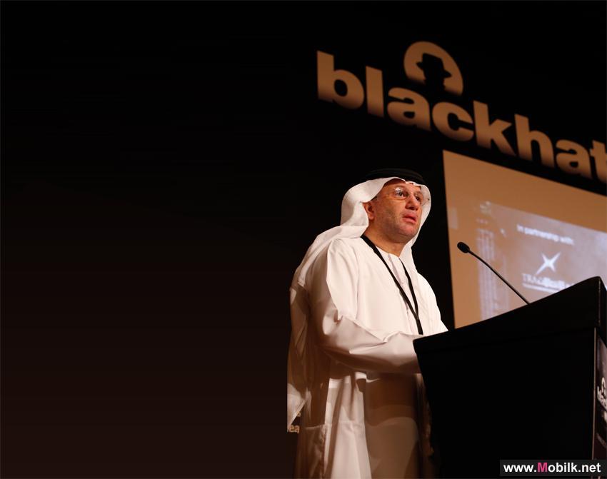 سعادة محمد ناصر الغانم يفتتح فعاليات مؤتمر بلاك هات (Black Hat) في أبو ظبي