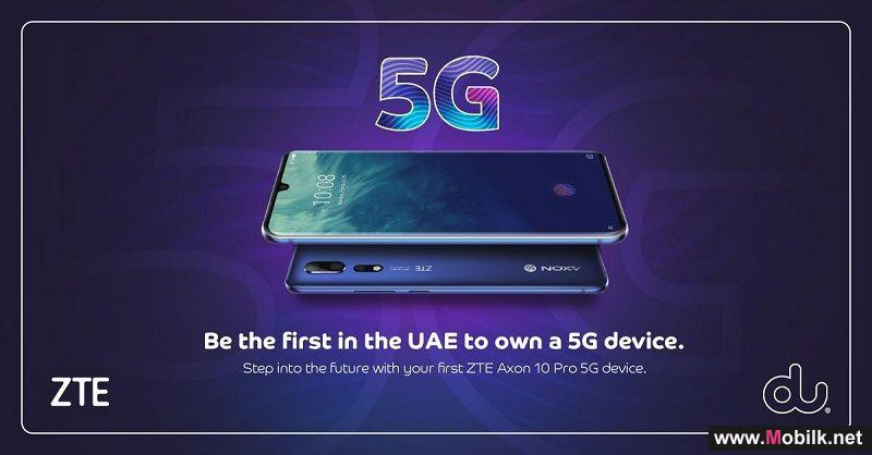 du first telco operator in the Middle East to launch 5G mobile devices