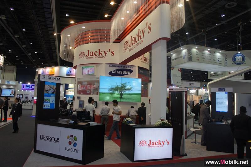 جاكيس لحلول الأعمال تعرض منتجات الطابعات ثلاثية الأبعاد البسيطة والمتطورة جداً في أسبوع جايتكس للتكنولوجيا ٢٠١٤