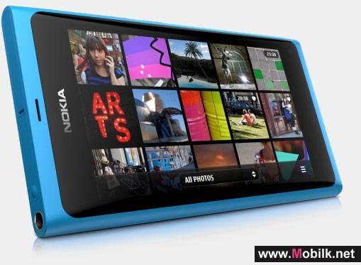 نوكيا تطرح منتجها الجديد Nokia N9 أول محمول يعمل بتقنية ميجو