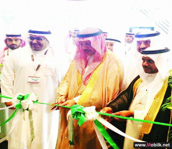 القنصل السعودي في دبي يفتتح الجناح السعودي المشارك في معرض جيتكس 2014
