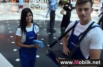 سامسونج الكترونيكس المشرق العربي تطلق حملة التحديث الذكي للهواتف الخلوية