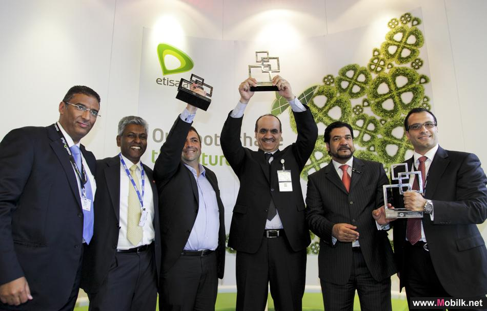 Etisalat crowns  With three Prestigious GSMA Global Mobile Awards in Barcelona