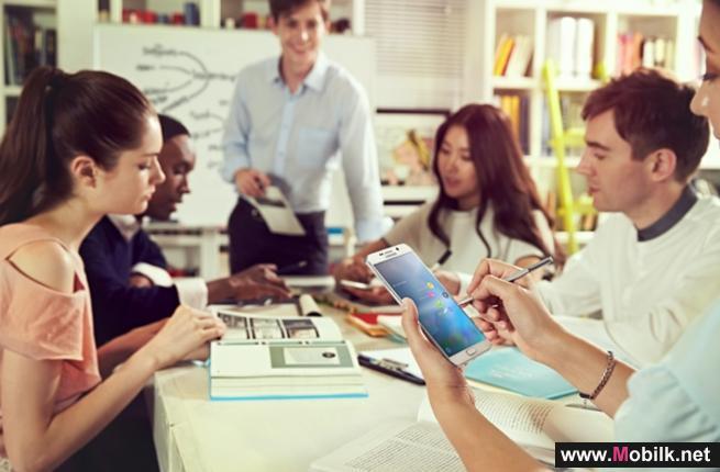 سامسونج ترتقي بمعايير التبادل التجاري بين الشركات مع أجهزتها المتنقلة الجديدة المخصصة للشركات في معرض جيتكس