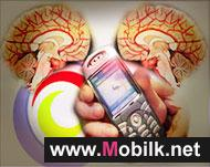 اشارات الهاتف المحمول تهيج الدماغ