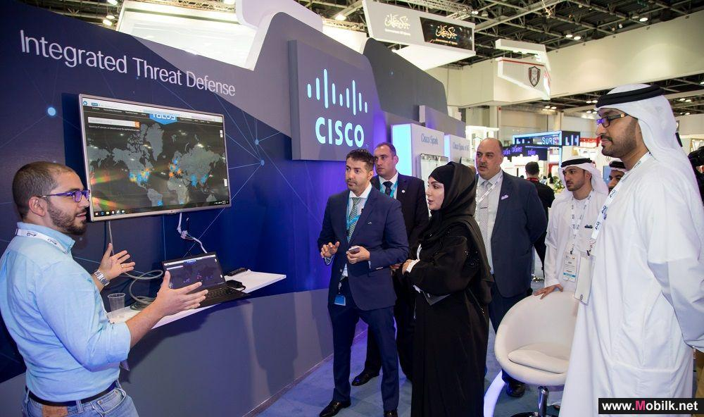 Cisco's Network of the Future, Kinetic IoT Platform and AI Innovations Attract Significant Attention at GITEX 2017