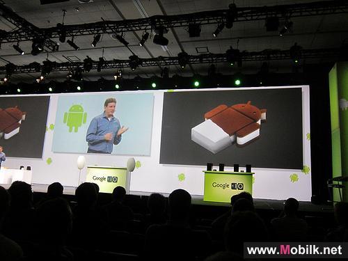 اعلنت شركة Google عن نظام التشغيل الجديد Android 2.4 و الذي سيكون باسم Ice Cream Sandwich  في مؤتمر Google I/O