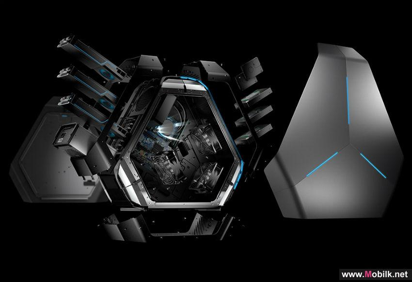 Dell تستعرض كمبيوتر الألعاب Alienware Area-51 خلال فعاليات معرض
