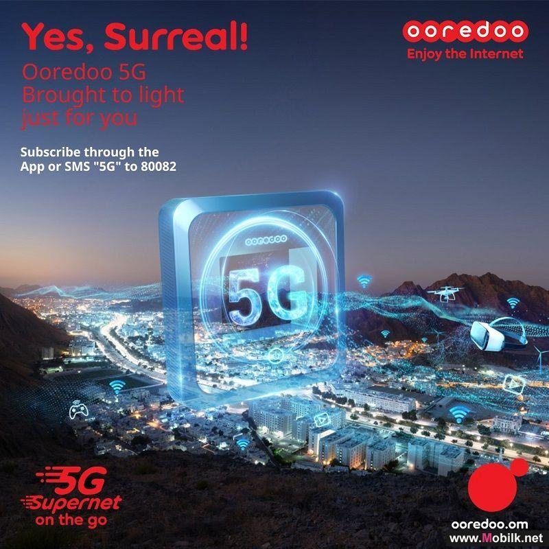 Experience the Thrill of 5G for Mobile Free with Ooredoo