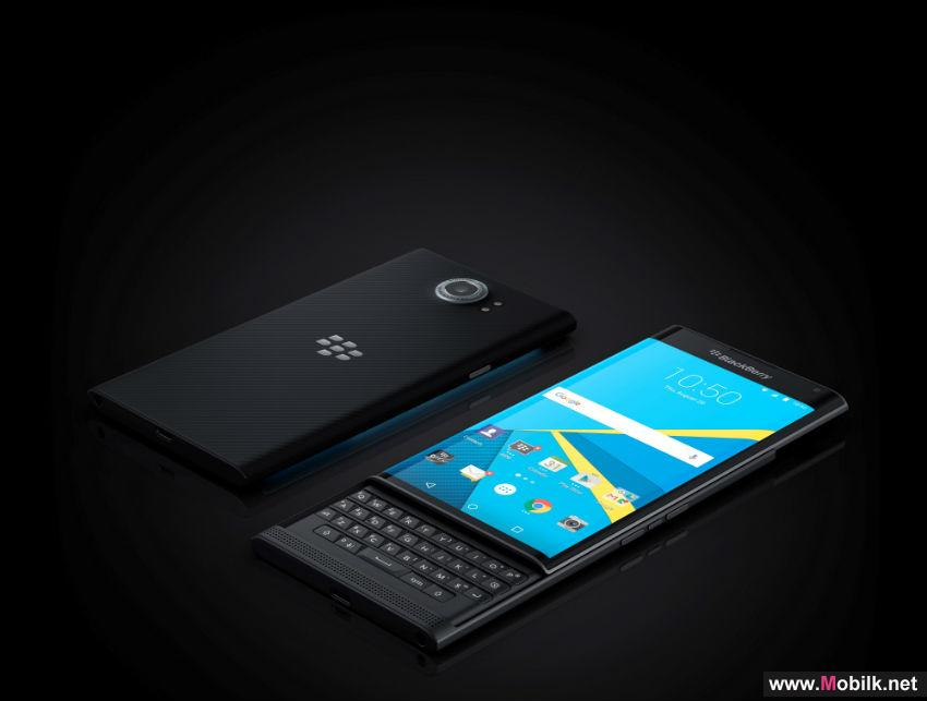 PRIV BY BLACKBERRY NOW RUNS ON ANDROID MARSHMALLOW