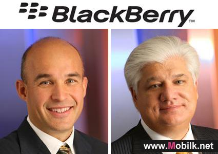 Blackberry-maker RIM says co-chief executives step down