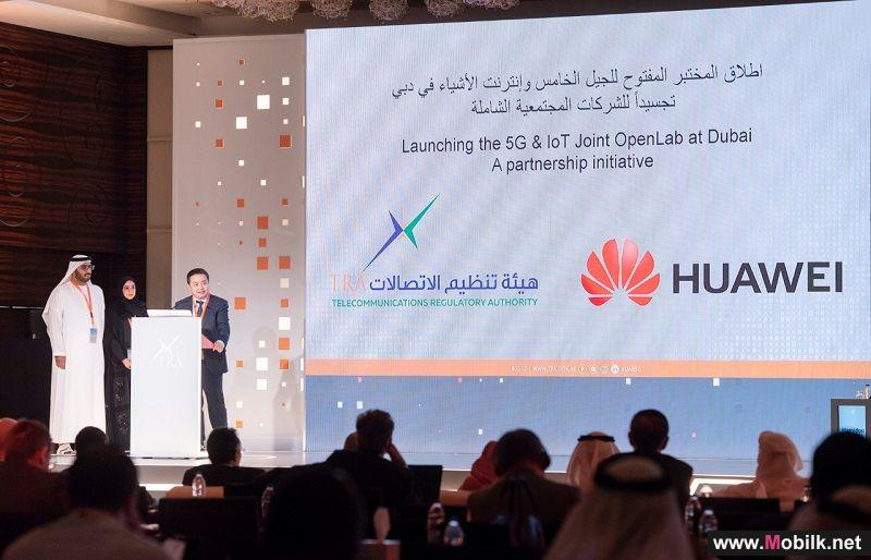 TRA and Huawei Jointly Release 5G & IoT OpenLab in the United Arab Emirates
