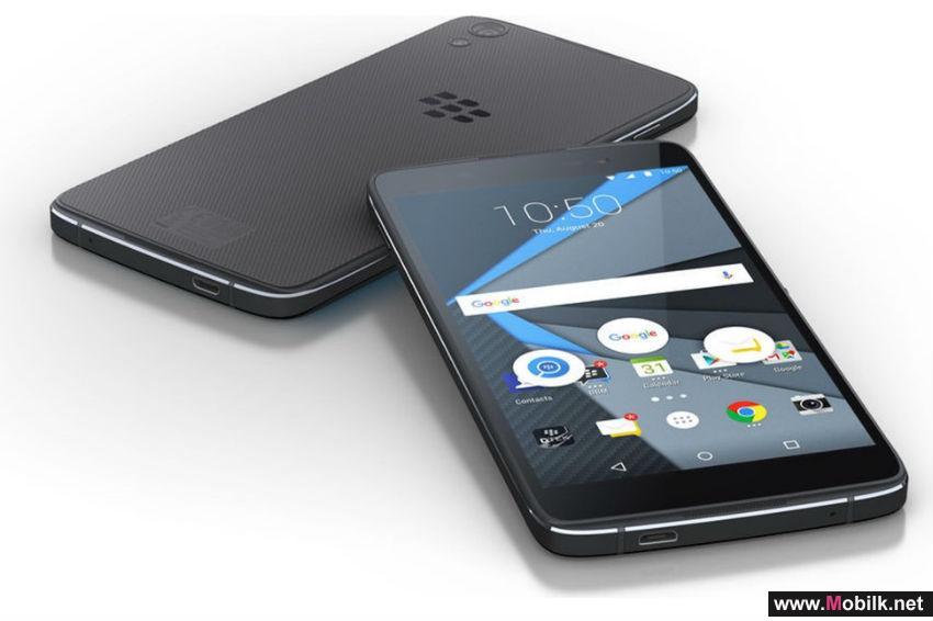بلاك بيري تكشف عن هاتف DTEK50 وتدعي انه أكثر هواتف أندرويد أماناً بالعالم