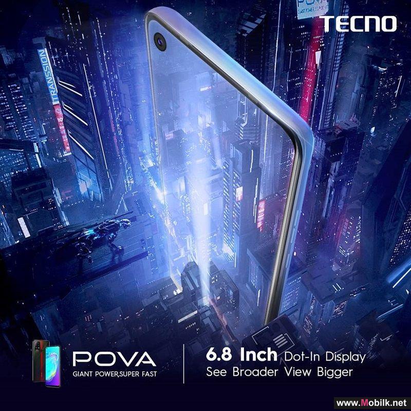 شركة تكنو موبايل تطرح أول هاتف ذكي من نوع POVA في منطقة الشرق الأوسط وشمال أفريقيا