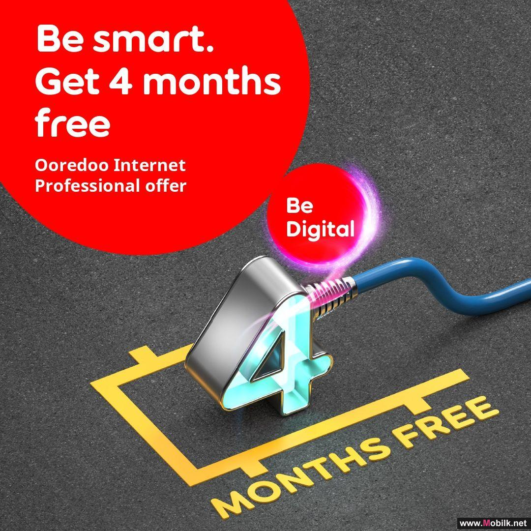 Ooredoo Gives Shahry Business and OIP Customers Up To 4 Months of Free