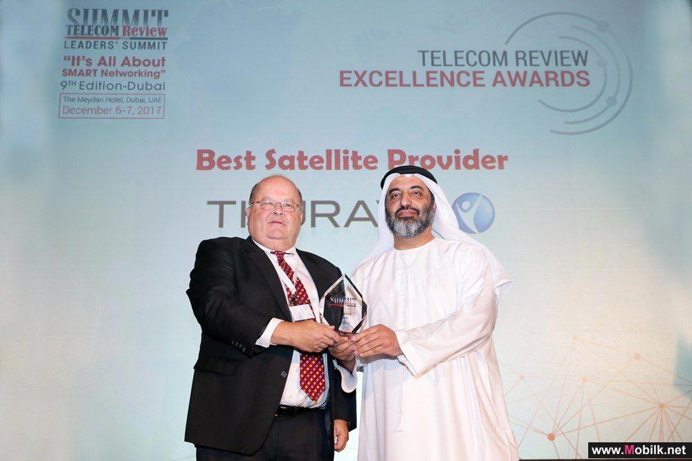 Thuraya wins Telecom Review's Satellite Operator of the Year Award