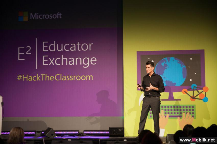 اختيار معلمين من دولة الامارات للإنضمام إلى مؤتمر مايكروسوفت العالمي للتبادل التربوي