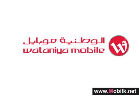 Wataniya Telecom launches 4G network