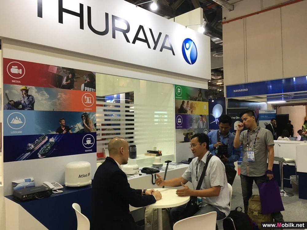 Thuraya Showcases Aero and WE at CommunicAsia 2017