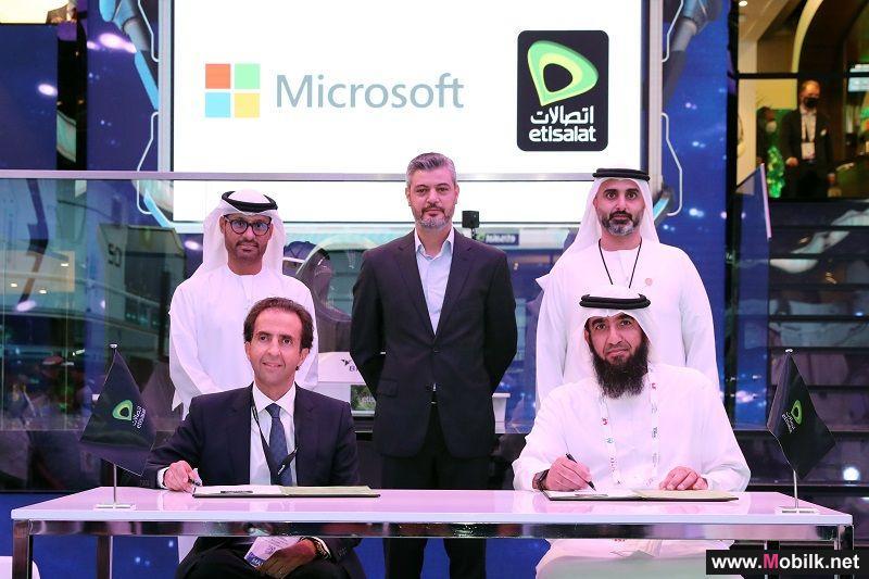 اتصالات تبرم شراكة مع مايكروسوفت  لتأمين الحدود الرقمية للإمارات العربية المتحدة
