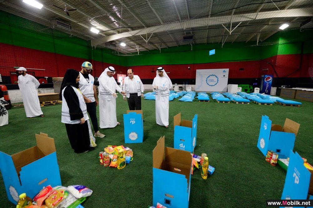 معالي  الوزير الدكتور ثاني بن أحمد الزيودي يشارك متطوعي