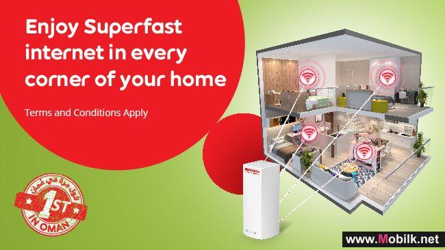 Ooredoo Home Broadband Customers Enjoy WiFi Coverage in Every Corner of their Home