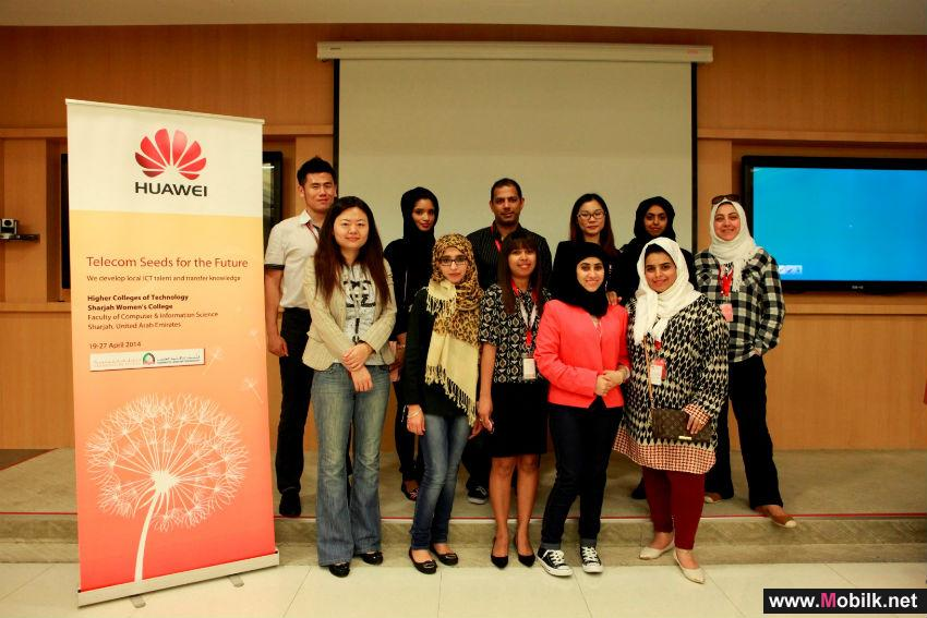 Higher Colleges of Technology (HCT) Students Excel at International Huawei Training Program