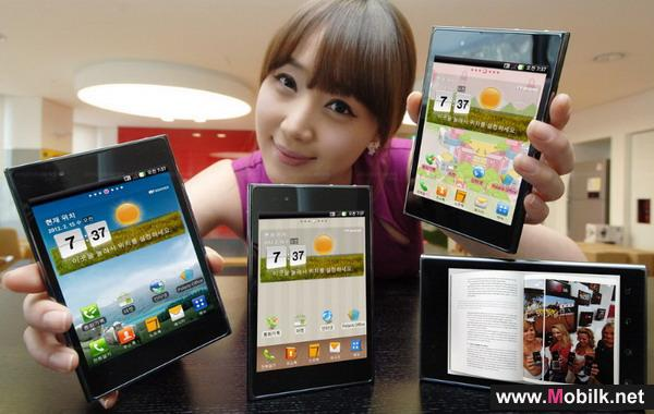 LG to introduce leading edge smartphones with trend-setting features at MWC2012